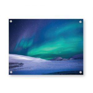 Nordlys aurora polaris veggbilde - Velg blant 2 millioner motiver - Ztili.no