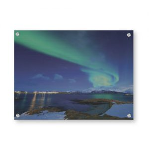 Nordlys landskap veggbilde - Valg blant 20.000+ motiver - Ztili.no